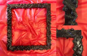 Organic 3Dprinted Frame by seanpt