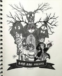 Bad End Friends by xNattRaserix
