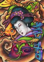 Geisha by Unit-87P