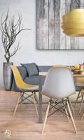 Yellow Interior by vudumotion