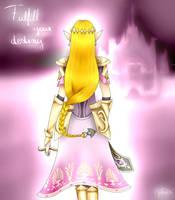 Princess Zelda by SelenaLynne