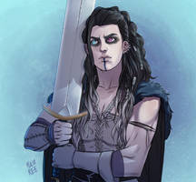 Critical Role - Yasha by Goldman-Karee