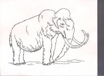 mammoth by GreatWhitewolfspirit