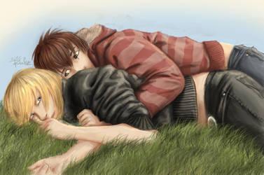 Mello, you're my very best friend... by Rufciu