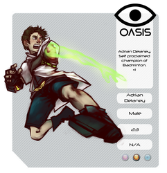 [ OASIS ] Adrian Delaney by Dracorium
