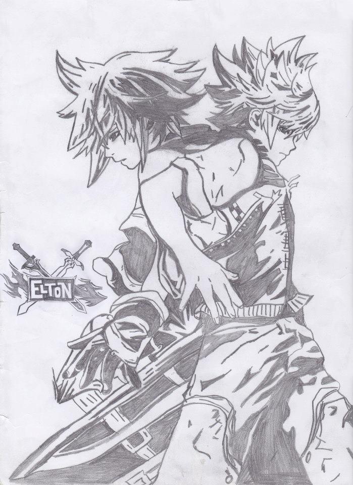 Kingdom Hearts Drawing By Coaxfiber On Deviantart