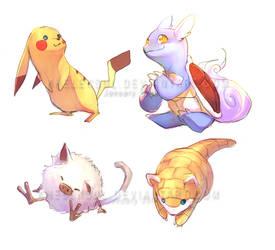 Pokemon II by kheleksul