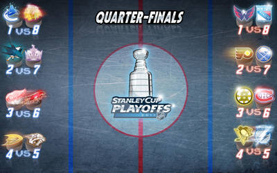 NHL STANLEY CUP PLAYOFFS 2011 by melies