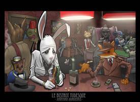Le Bistrot Tudesque by melies