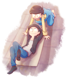 On the Roof by Umishaii