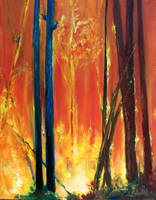 Forest Fire--2 by malicekisho