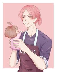 [FA] Gakuen Babysitters_Usaida amd Midori by ChocoBerryINK