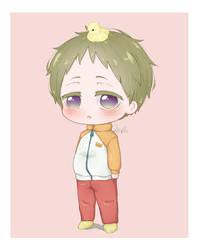 [FA] Gakuen Babysitters_Kashima Kotarou Chibi FB by ChocoBerryINK