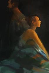 By Candlelight by Birgitte-Gustavsen