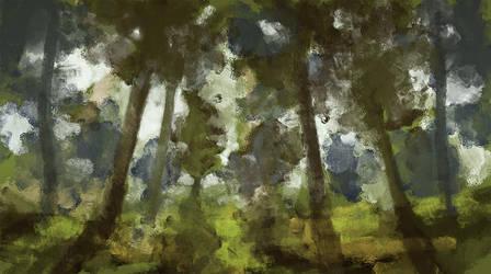 Forest by Birgitte-Gustavsen