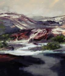Rough Hills by Birgitte-Gustavsen