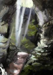 Study of Alabama Cave by Birgitte-Gustavsen
