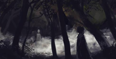 Voices In The Woods by Birgitte-Gustavsen