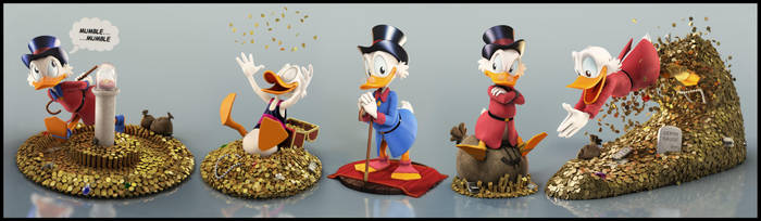 Uncle Scrooge by EderCarfagnini