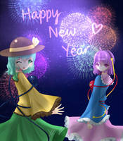 Happy New Year by elaphine