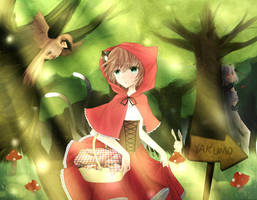 Little Red Riding Hood by elaphine