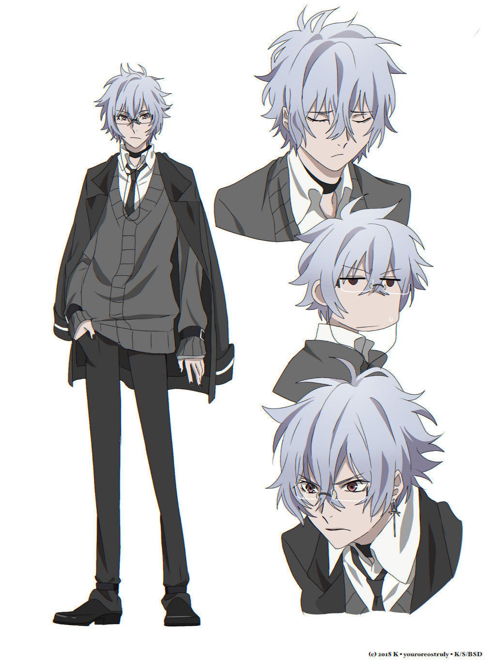 Bungo Stray Dogs OC - Gin. by orehyeonggie on DeviantArt