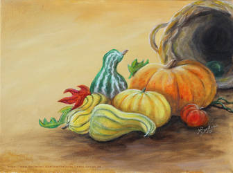 Harvest - Pumpkin by MarthaLaufej