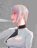 Nakiri Alice - Shokugeki no Soma by Yorollimor