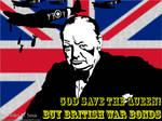 British War Bond Poster by konukoii