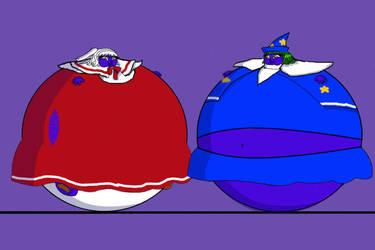 blueberry Shinki and Mima by amethystdreamernat
