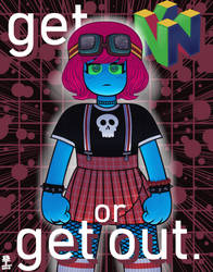 Get N or Get Out by Wazzaldorp