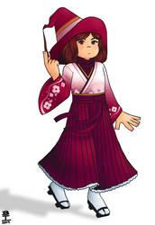 Ready for Smash (Kimono Alt) by Wazzaldorp