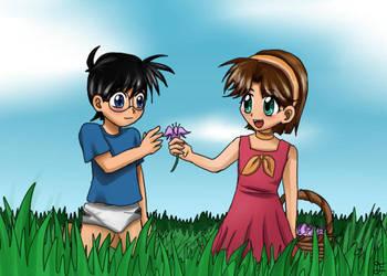 Flower for Conan by Eljiasan