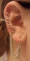 Ear Cuff Earring by Adrasteia-Nemesis