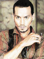 Johnny Depp 1 by cherrymidnight