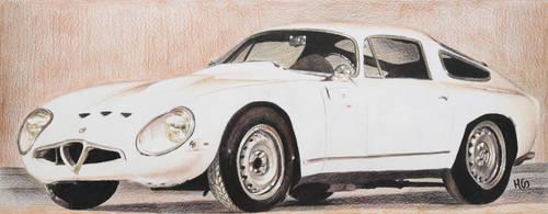 Alfa Romeo Giulia tz1 by cherrymidnight