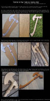 Tutorial on how I make my cosplay props by Dj3r0m