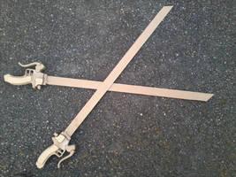 [Shingeki no Kyojin] 3DMG Sword (WIP) by Dj3r0m
