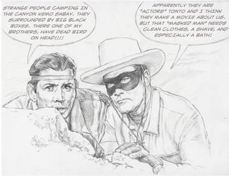 THE ONE AND ONLY LONE RANGER AND TONTO by AbdonJRomero