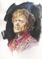 PETER DINKLAGE: Tyrion Lannister - Game of Thrones by AbdonJRomero