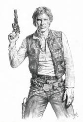 In memory of Han Solo: Smuggler-pirate, General by AbdonJRomero