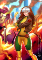 Rogue's Touch by m-renoir