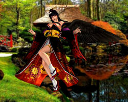 Nyo Tengu(Default) Dead or Alive 5 Ultimate by xXKammyXx