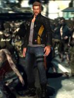 Chuck Greene(Default) Dead Rising 3 by xXKammyXx