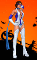 Lisa Hamilton(Halloween) Dead or Alive 5 Ultimate by xXKammyXx
