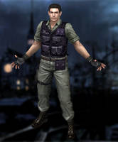 Chris Redfield(Rockford Gear) Resident Evil HD by xXKammyXx