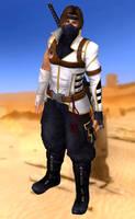 Hayate(Modern Ninja) Dead or Alive 5 Last Round by xXKammyXx