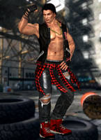 Rig(Costume 15) Dead or Alive 5 Last Round by xXKammyXx