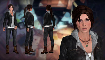 Lara Croft(Casual MOD) Rise of the Tomb Raider by xXKammyXx