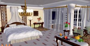 Bedroom (DoAX3) by xXKammyXx